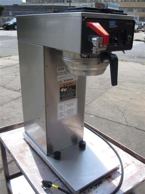 Bunn-o-matic airpot coffee brewer model CWTF15-aps