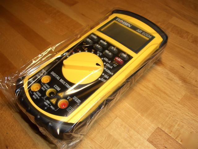 Temperature Probe For Digital Multi Meter