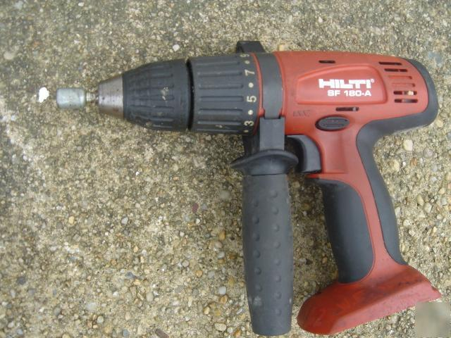 hilti sf 180 a 18v cordless hammer drill 2006 dril only. Black Bedroom Furniture Sets. Home Design Ideas