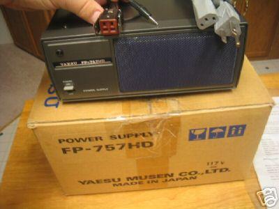 Like New Yaesu Fp 757hd Power Supply With Speaker