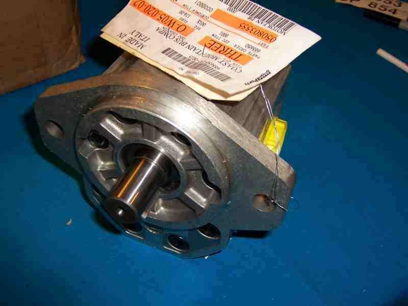 Hydraulic Blower Fans : New hydraulic fan motor for radiator cooling italy