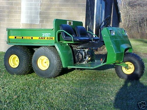 Very Nice John Deere AMT626 Gator Elec Dump No