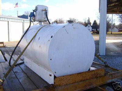 Diesel Fuel Gas Fuel Tranfer Tank Gasboy 110 Pump