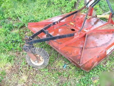 6 Foot Agri Cutter Bush Hog