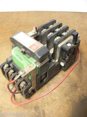 Ge 208b204daa Size 0 Motor Starter 600v 5 Hp 460v Coil