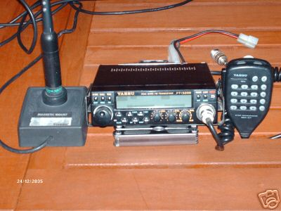 Yaesu ft-5200 dual band scanning mobile transceiver