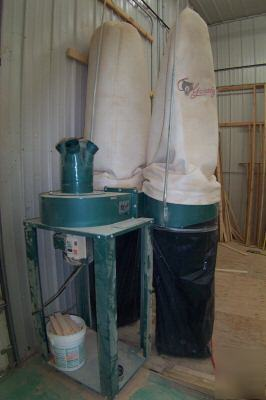 Dust Collector Grizzly 5 Hp Industrial Dust Collector