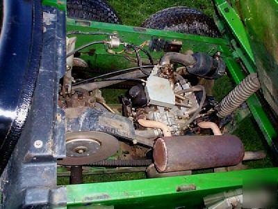 John Deere Gator >> John deere 6X4 6 x 4 gator 4WD no power dump