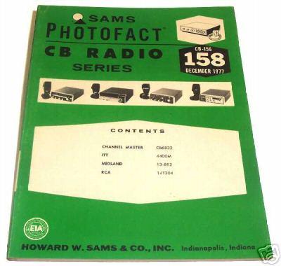 Sams photofact cb 158 december 1977 cb radio series for Lloyds motors jamestown nd