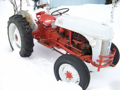 Ford N Tractor W Pt Disc Excellent Condition Imgpic
