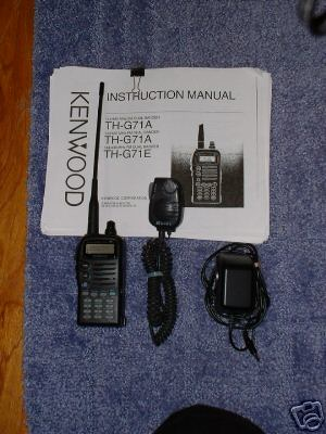 Kenwood th-G71A fm dual bander with mods
