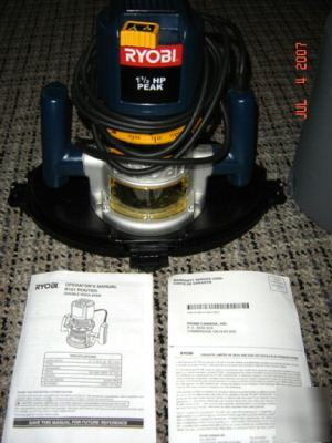 Slightly used ryobi R161 1 1/2 hp router