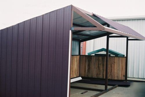 How To Build A Simple Loafing Shed Lidya