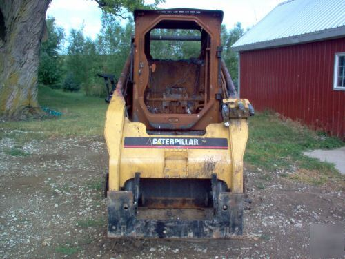 Caterpillar Skid Steer Bobcat Loader Needs Work Cat