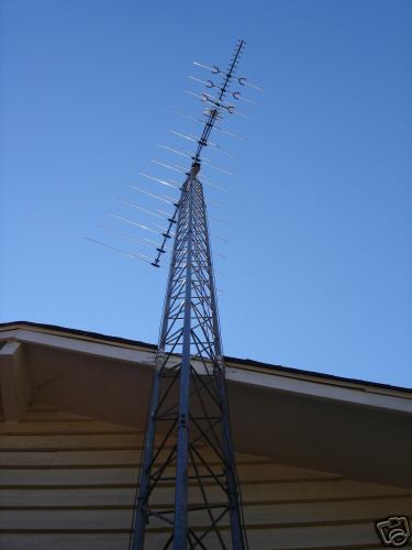 how to build a tv antenna tower