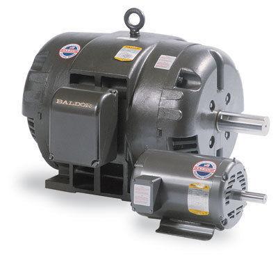 New 7 1 2 hp baldor motor 208 230 460 3 phase for Baldor 2 hp single phase motor