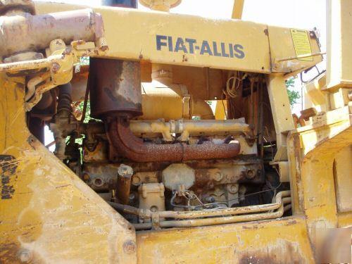 Fiat Allis 14c Parts : Fiat allis c dozer