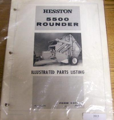 Hesston Rounder 5530 manual
