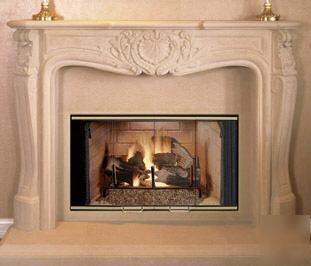 New 36 Quot Superior Wood Burning Pre Fabricated Fireplace