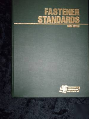 Inch Fastener Standards 8th Edition
