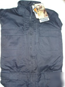 New 5 11 Tactical Tdu Jumpsuit Dk Navy Blue Size 38 Sh