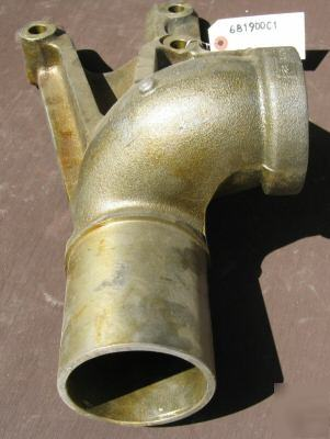 Turbo Exhaust Elbow C For Ih Dt Dt Engine Imgpic