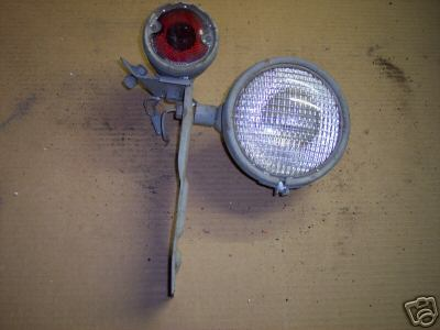 Ford N N Tractor Rear Light Taurus Tail W Bracket Imgpic