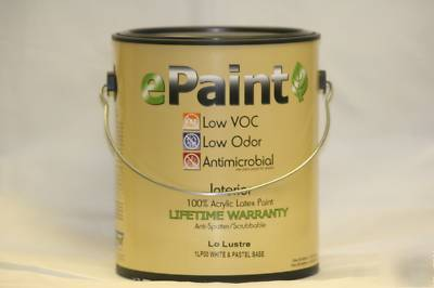 epaint antimicrobial interior acylic paint low odor voc. Black Bedroom Furniture Sets. Home Design Ideas