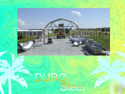 Duro steel barn kit 40X60X16 metal farm shed buildings
