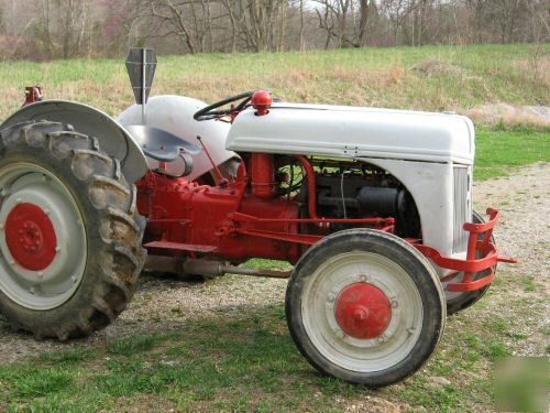 Radiator Not Getting Hot >> Ford 2N tractor with grader blade not 9N 8N