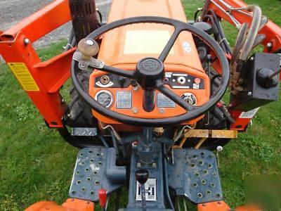 Lancaster County Motors >> 1980 kubota B6100 4X4 tractor w/ woods dual 145 loader
