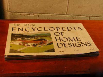 The 1975 76 encyclopedia of home designs big catalog for Encyclopedia of home designs