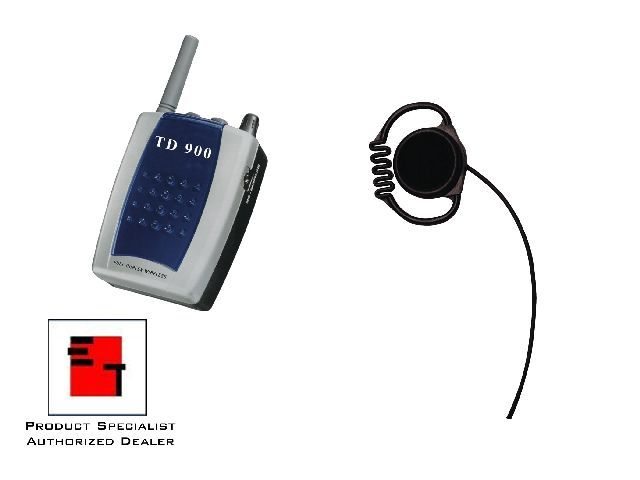 2 Person Eartec Td900 Wireless Intercom System