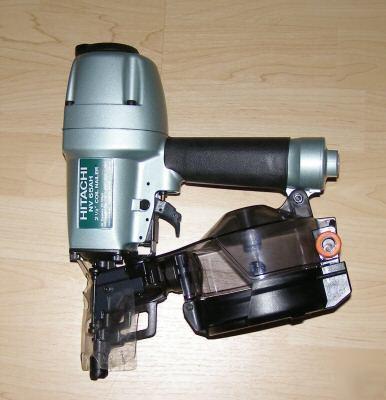 New Hitachi Nv 65ah 2 1 2 Quot Coil Siding Nailer Nv65ah