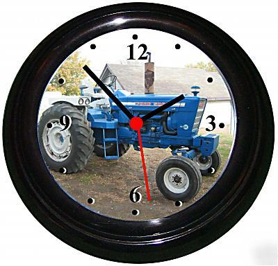 Ford 5000 Tractor Picture In A Wall Clock