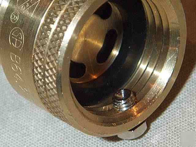 New brass back flow preventer hose bib garden hose