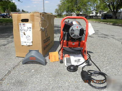 Ridgid Kollmann Drain Pipe Cleaning Machine Sewer Snake