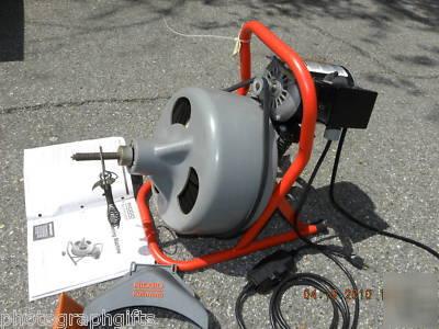 ridgid sewer machine parts