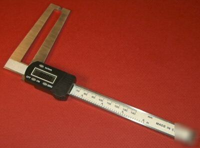 New 6 Quot Long Reach Digital Caliper Inch Amp Metric Case