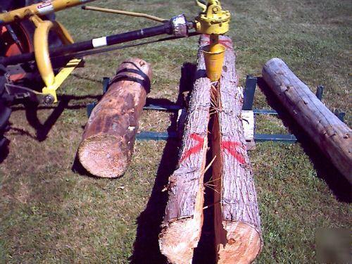 Log Splitter For Sale >> Log splitter, wood stove, tractor pto, skid steer,