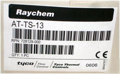 Raychem at-ts-13 electronic surface sensing thermostat