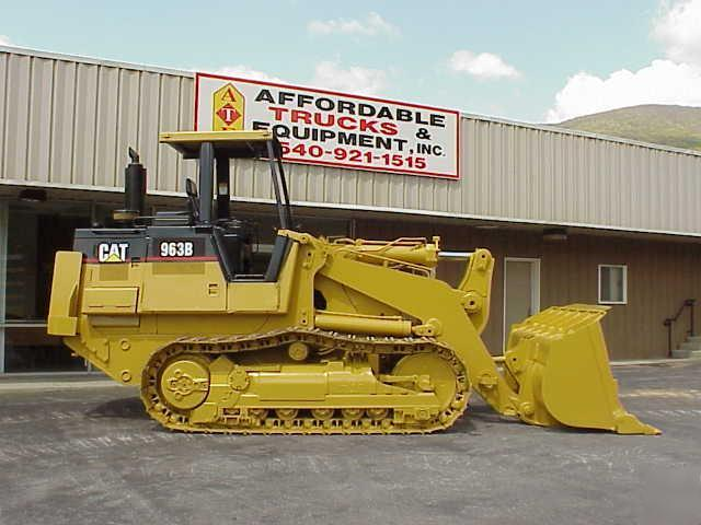 963 Email Bombs Contact Usco Ltd Mail: 1997 Caterpillar 963B Cat 963 B Crawler Track Loader