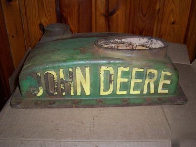 John Deere Unstyled Model B Upper Radiator Tank