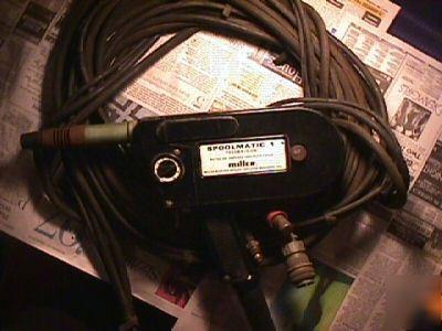 Miller Spoolmatic 1 Spool Gun Excellent Shape 200amp