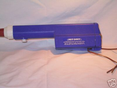 Electric cattle prod hot shot the blue one for Electric motor repair chicago