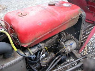 1961 Massey Ferguson 35 Nice Tractor Bush Hog Mower