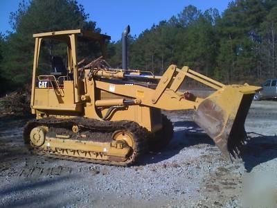 Cat tractor 939C track loader D4 D5 D3 john deere