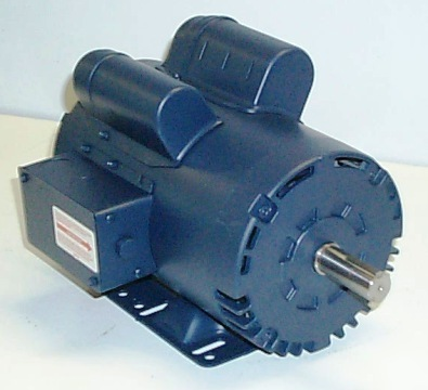 New 5 Hp 3450 1 Phase Air Compressor Electric Motor 7 8