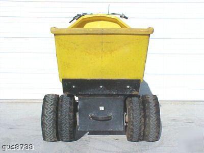 Wacker wb 16 contrete buggy power buggy honda 13 hsp