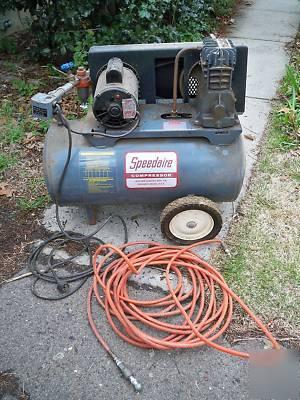 Speedaire Air Compressor 2z488 Dayton 9k322